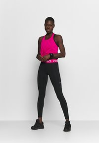 Nike Performance - DRY ELASTIKA TANK - Funkční triko - fireberry/black - 1