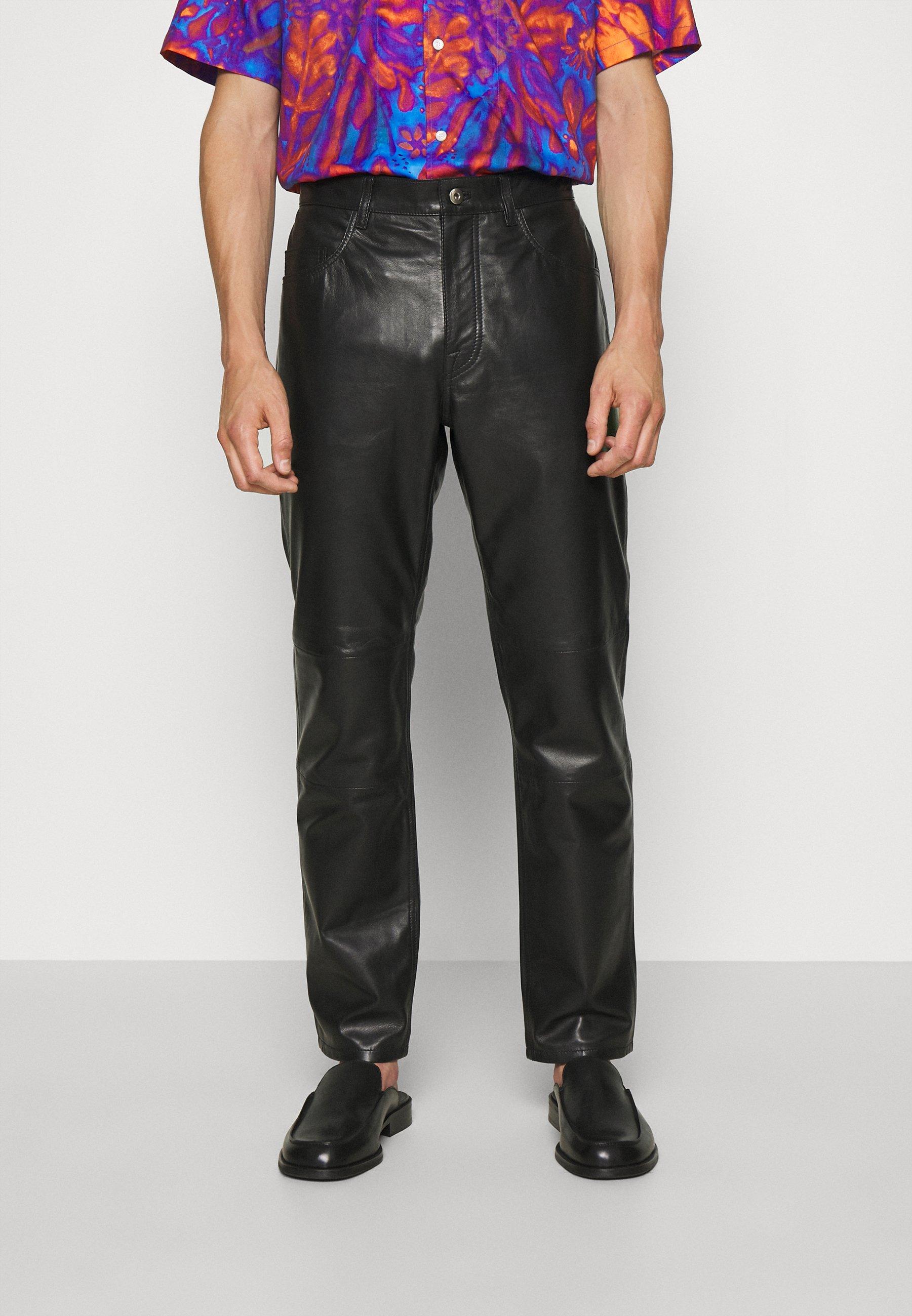Uomo ABNERE  - Pantaloni di pelle
