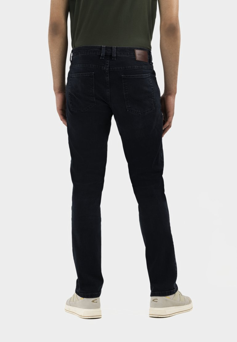 camel active - RELAXED - Relaxed fit jeans - indgo dark blue used