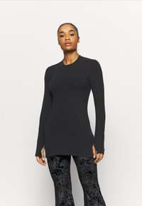 Free People - BLISSED OUT LONG SLEEVE - Longsleeve - black - 2