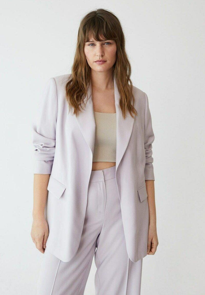 Violeta by Mango - Short coat - lila