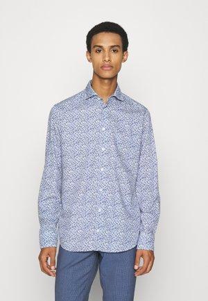 Slim Fit - Floral Cotton-Tencel Shirt  - Formal shirt - blue