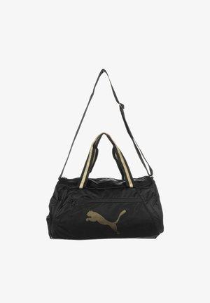 Sports bag - puma black  bright gold