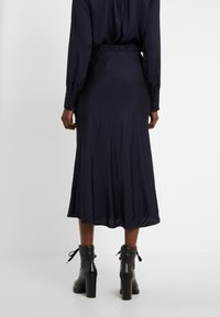 Bruuns Bazaar - BACA SKIRT - A-line skirt - dark navy - 2