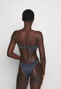 Seafolly - STARDUST TWIST BANDEAU - Bikini top - indigo - 3