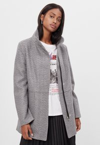 Bershka - Short coat - light grey - 0