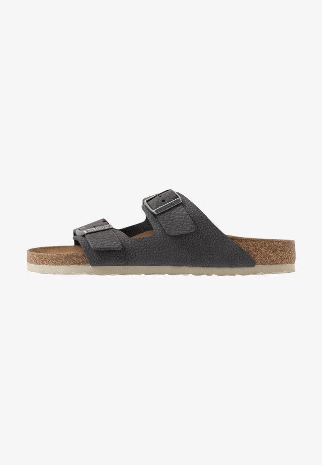 ARIZONA - Pantoffels - steer soft gray