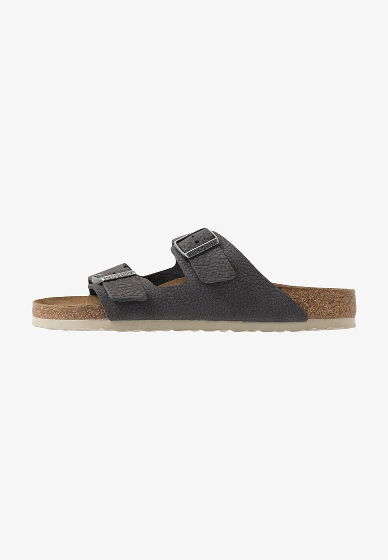Birkenstock - ARIZONA - Slippers - steer soft gray