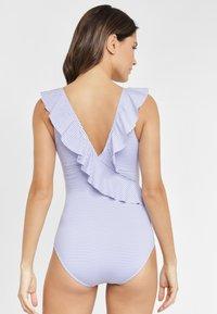 LASCANA - Swimsuit - blue/white - 2