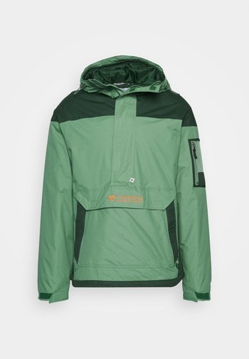 CHALLENGER - Veste coupe-vent - thyme green/spruce