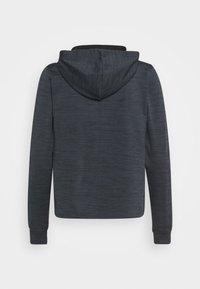 ONLY Play - ONPORLANA ZIP HOOD - Zip-up sweatshirt - black melange - 4