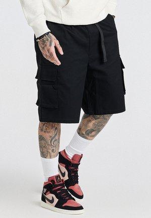 AOKI CARGO  - Shorts - black