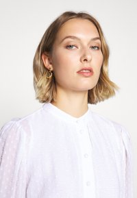 MICHAEL Michael Kors - CLIP DOTS DRESS - Skjortekjole - white - 3