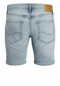 Jack & Jones - Denim shorts - blue denim - 6