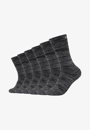 BASIC SOCKS VENTILATION 6 PACK - Socks - dark grey random