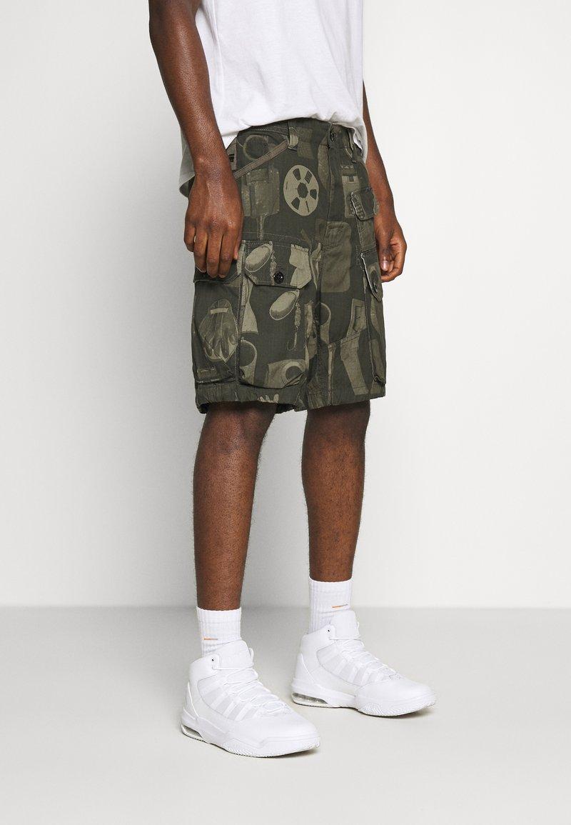 G-Star - JUNGLE CARGO - Shorts - olive/khaki