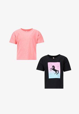 REGULAR FIT - Print T-shirt - pink
