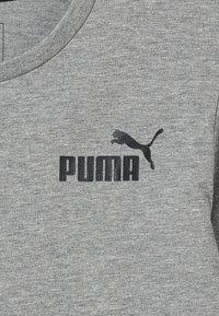 Puma - LOGO LONGSLEEVE  - Long sleeved top - medium grey heather - 4