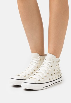 CHUCK TAYLOR ALL STAR - Sneakers hoog - egret/vintage white/black