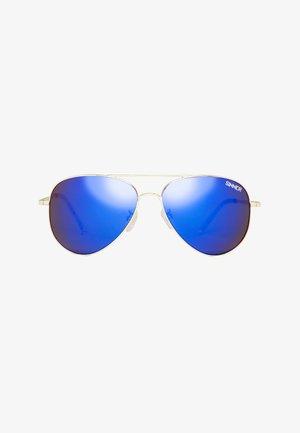 Sunglasses - gold metal