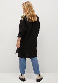 Violeta by Mango - TENCE - Button-down blouse - schwarz - 2