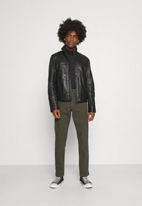 Selected Homme - Chino kalhoty - forest night - 1