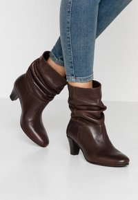 mint&berry - Classic ankle boots - dark brown - 0
