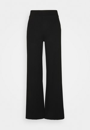 LAURA TROUSERS - Trousers - black