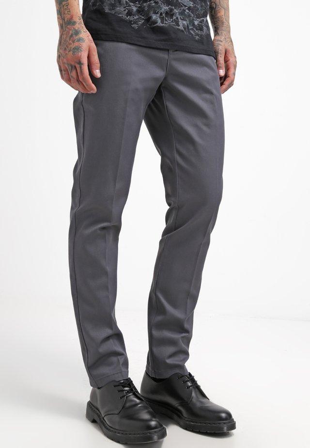 WORK PANT - Chino - charcoal grey