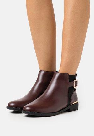MILA JODPHUR  - Ankle boots - burgundy