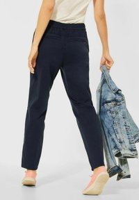 Cecil - CASUAL FIT HOSE - Trousers - blau - 1