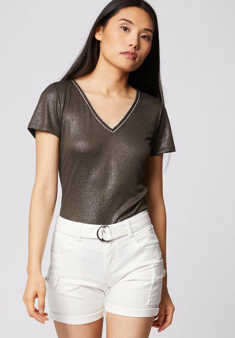 Morgan - Print T-shirt - khaki