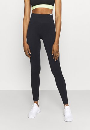 SEAMLESS LEGGINGS  - Trikoot - schwarz