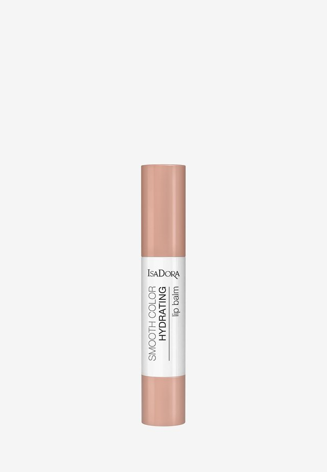 SMOOTH COLOR HYDRATING LIP BALM - Læbepomade - clear beige