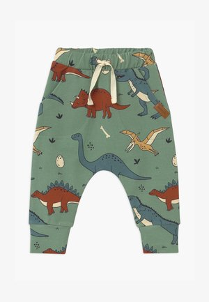 FUNNY DINOSAURS - Trousers - green