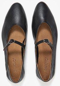 Inuovo - Ankle strap ballet pumps - black blk - 3