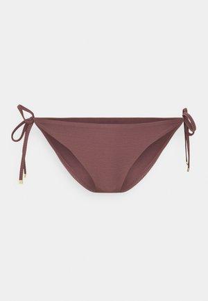 SOLIDS STRING SIDE TIE - Bikini bottoms - overshadow