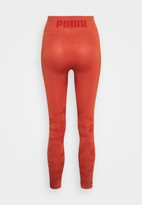 Puma - EVOKNIT SEAMLESS LEGGINGS - Tights - autumn glaze - 6