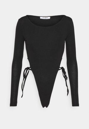 BONNIE BODY - Long sleeved top - black