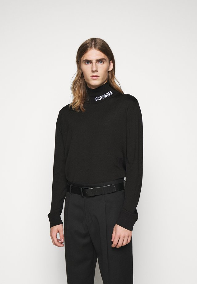 FULL LOGO TURTLENECK - Jumper - black