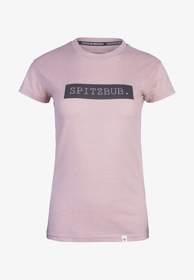 SIEGLINDE - Print T-shirt - pink