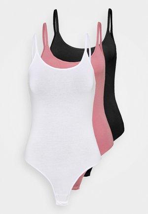 3 PACK - Body - white/black/pink