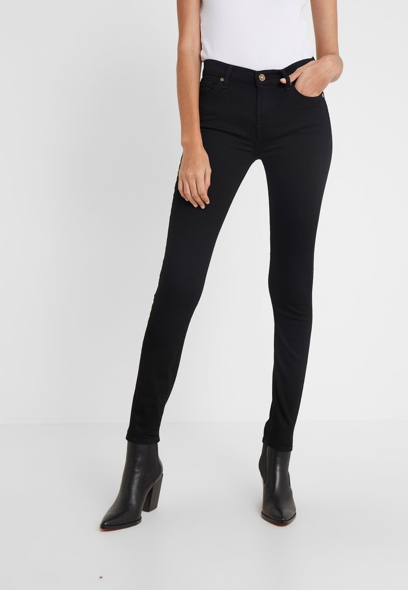 7 for all mankind - EXCLUSIVES - Jeans Skinny Fit - luxurious rinse black