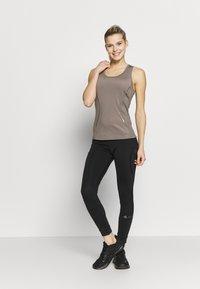 adidas by Stella McCartney - ESSENTIALS TANK - Sports shirt - simple brown - 1