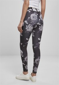 Urban Classics - Leggings - Trousers - grey - 2
