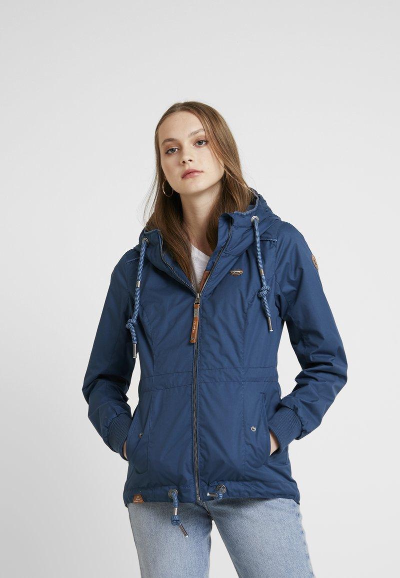 Ragwear - DANKA - Kort kåpe / frakk - blue