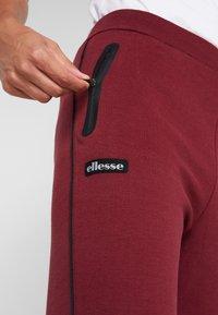 Ellesse - MARTINETTI - Pantalones deportivos - burgundy - 5