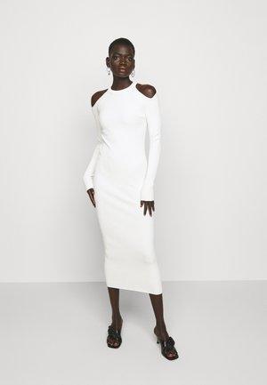CUT OUT DRESS - Jumper dress - beige
