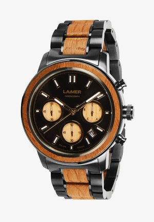 MARCO - Cronografo - schwarz/braun