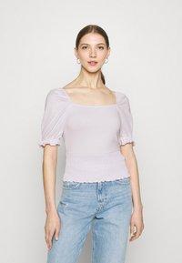 Even&Odd - Basic T-shirt - lilac - 0